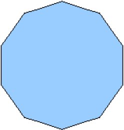 27 sided shape